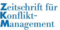 ZKM Zeitschrift für Konfliktmanagement